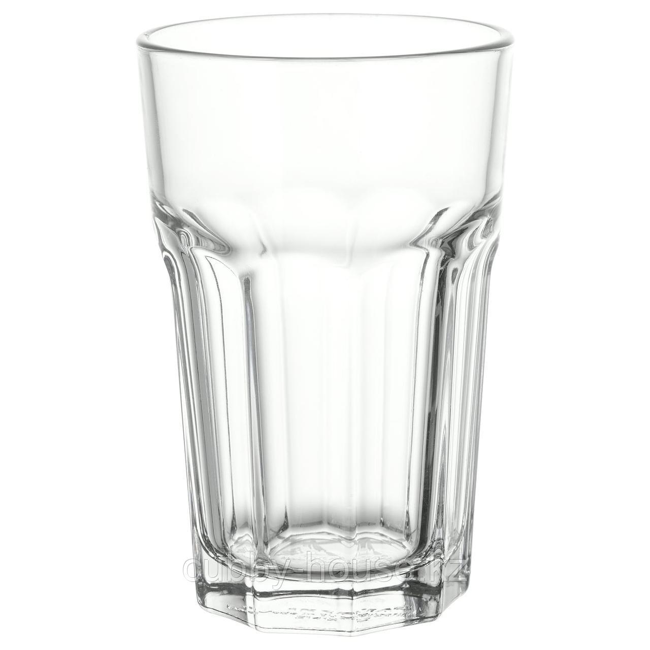 ПОКАЛ Стакан, прозрачное стекло, 35 сл
