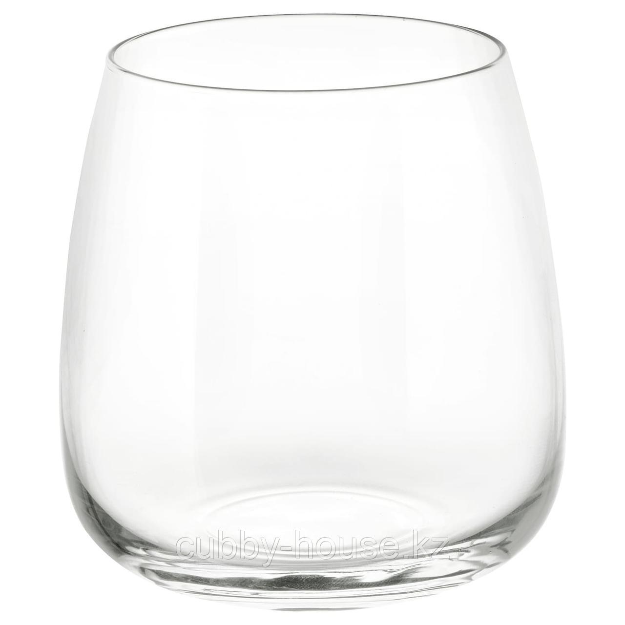 ДЮГРИП Стакан, прозрачное стекло, 36 сл