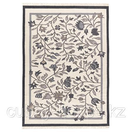 АЛЬВИНЕ Ковер безворсовый, ручная работа серый, 170x240 см, фото 2