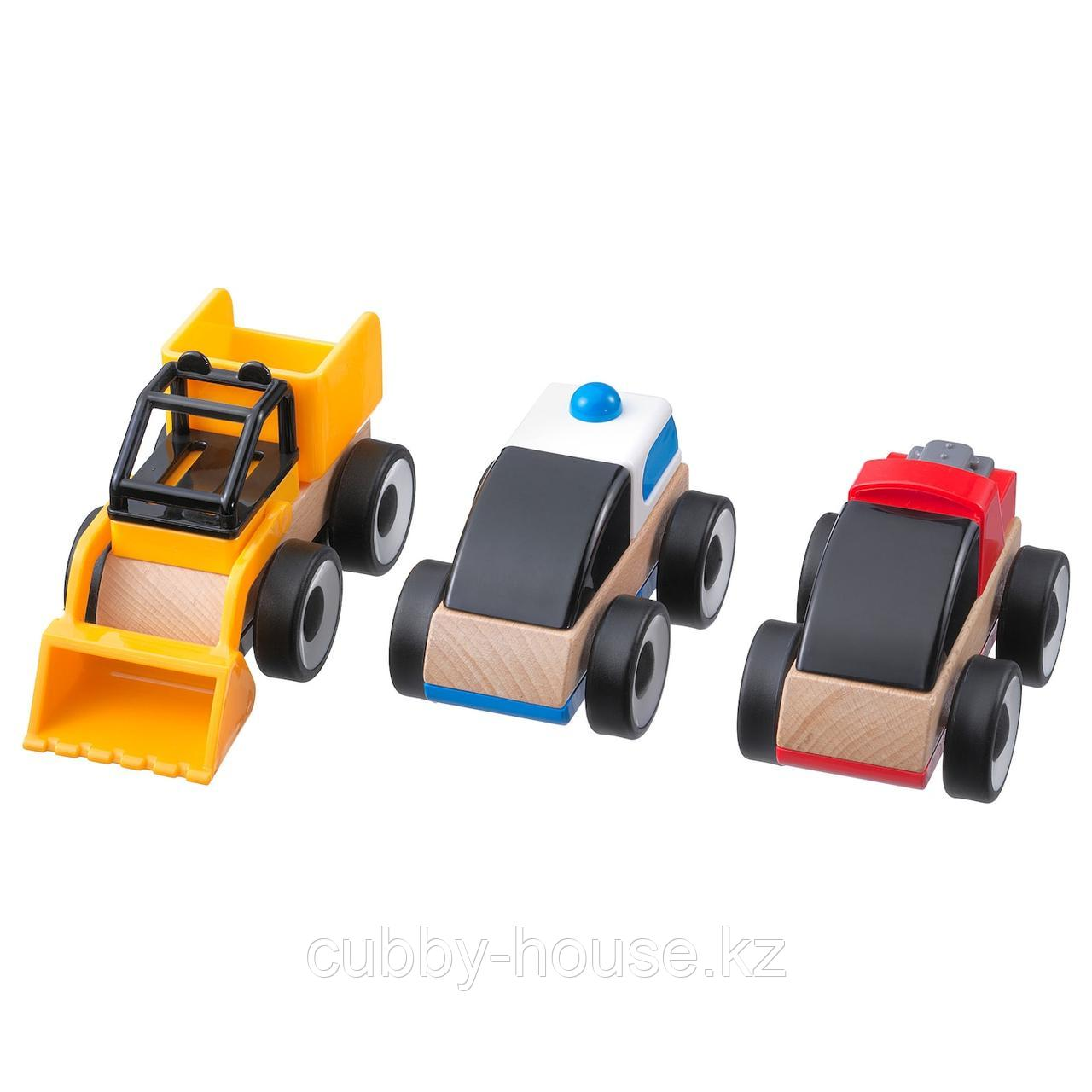 ЛИЛЛАБУ Грузовые машинки, разные цвета разные цвета