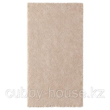 СТОЭНСЕ Ковер, короткий ворс, белый с оттенком, 80x150 см, фото 2