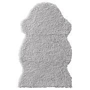 ФОРДРУП Ковер, серый, 60x100 см