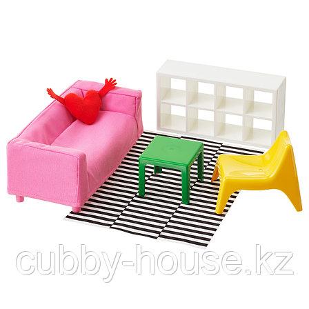 ХУСЕТ Кукольная мебель,гостиная, фото 2