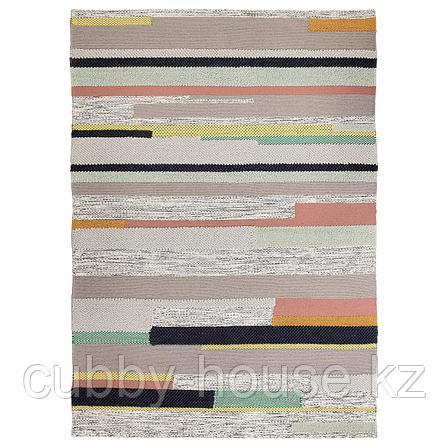 БРЁНДЕН Ковер, короткий ворс, ручная работа разноцветный, 170x240 см, фото 2
