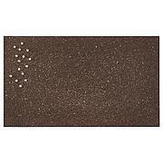 СВЕНСОС Доска для записей, с кнопками, пробка темно-коричневый, 35x60 см