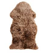 СКОЛЬД Овечья шкура, окрашенная, бежевый, 90 см