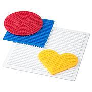 ПЮСЛА Плато для мозаики,4 штуки, разные цвета разные цвета
