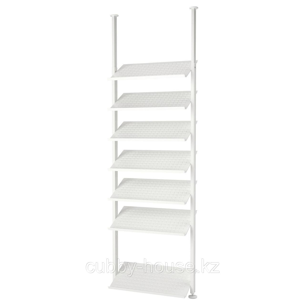 ЭЛВАРЛИ 1 секция, белый, 92x36x222-350 см