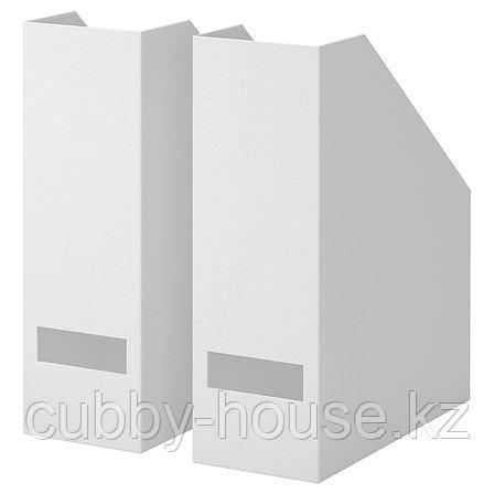 ТЬЕНА Подставка для журналов, белый, фото 2