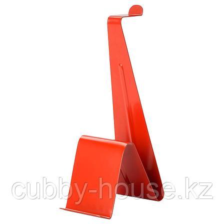 МЁЙЛИГХЕТ Подставка для планшета и наушников, красный, фото 2