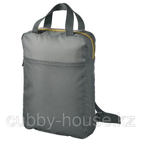 ПИВРИНГ Рюкзак, серый, 9 л, фото 2