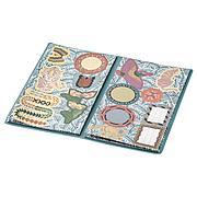 ИЛЛБАТТИНГ Папка с наклейками, разноцветный, мир животных