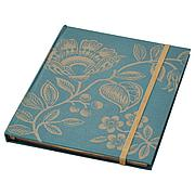 АНИЛИНАРЕ Книжка для записей, зелено-золотой, 20x16 см