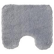 АЛЬМТЬЕРН Коврик в туалет, серый, 55x60 см