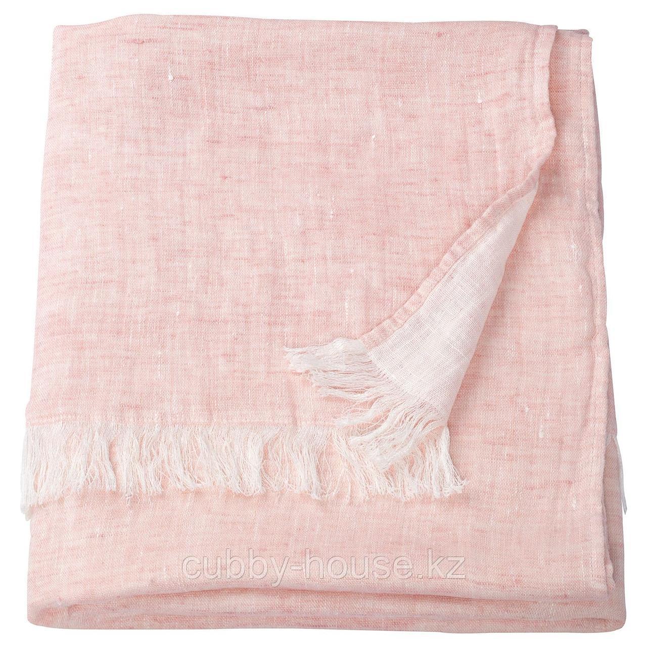 ГУЛЬТАЛЛ Плед, розовый, 130x170 см