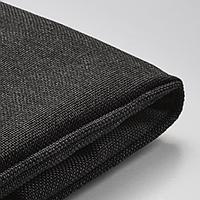 ЙЭРПОН Чехол на подушку стула, для сада антрацит темно-серый, 50x50 см
