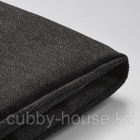 ЙЭРПОН Чехол на подушку стула, для сада антрацит темно-серый, 50x50 см, фото 2