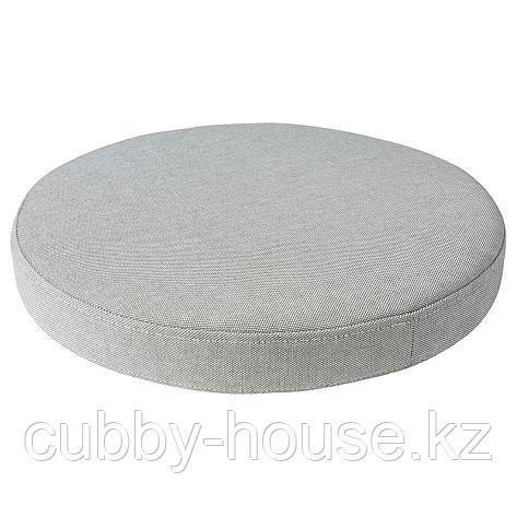 ОМТЭНКСАМ Подушка на стул, Оррста светло-серый, 38 см, фото 2