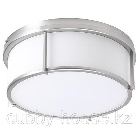 КАТТАРП Потолочный светильник, стекло никелированный, фото 2