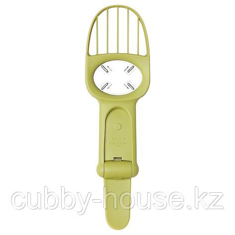ЛЭТТСКАЛАД Нож для авокадо, зеленый, фото 2