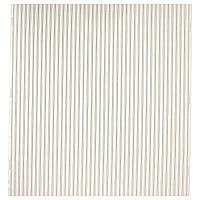 РАДГРЭС Ткань, белый/бежевый в полоску, 150 см