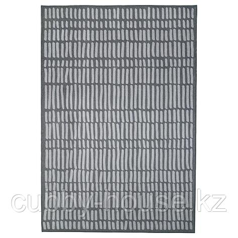 ОМТЭНКСАМ Ковер безворсовый, серый, 133x195 см, фото 2