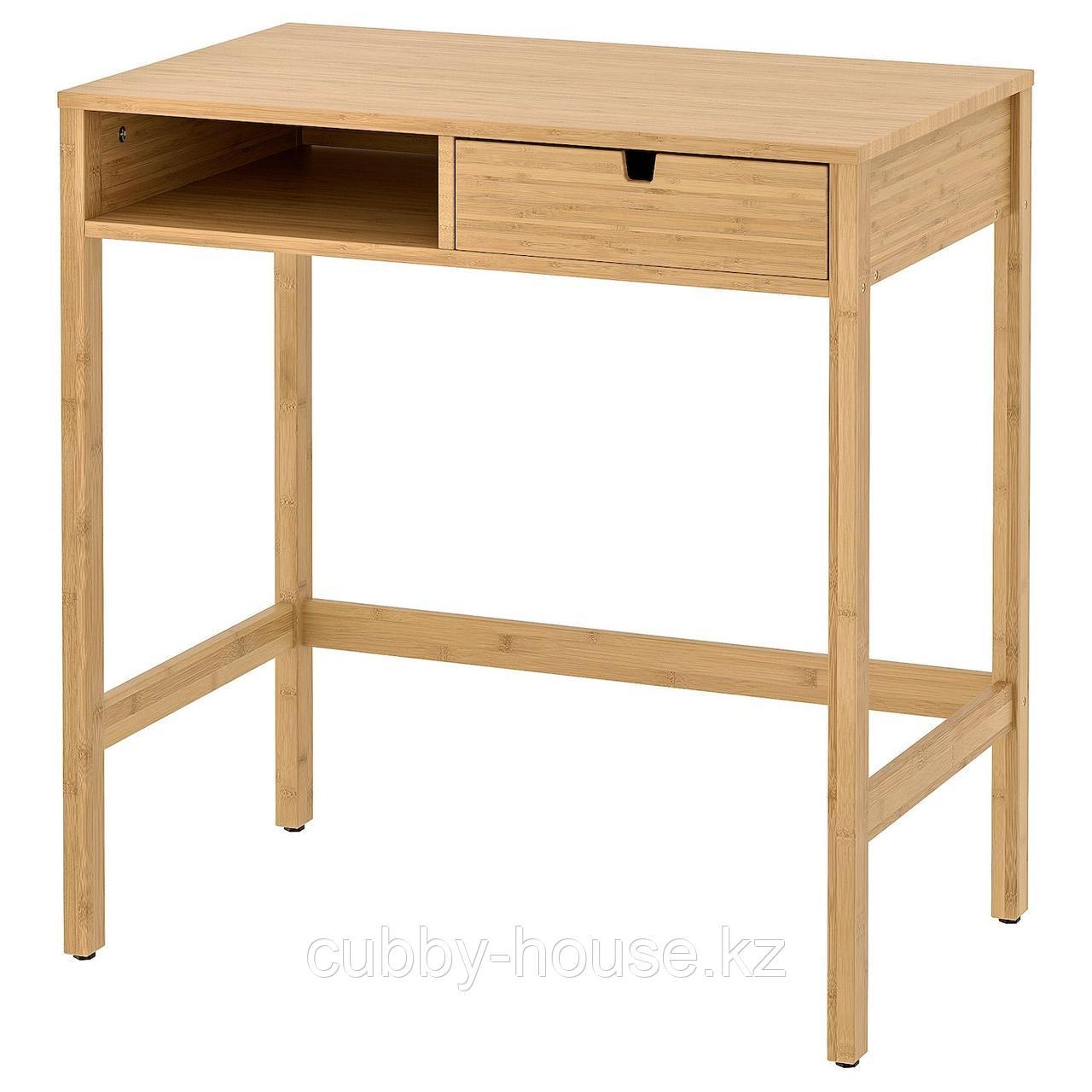 НОРДКИЗА Туалетный столик, бамбук, 76x47 см