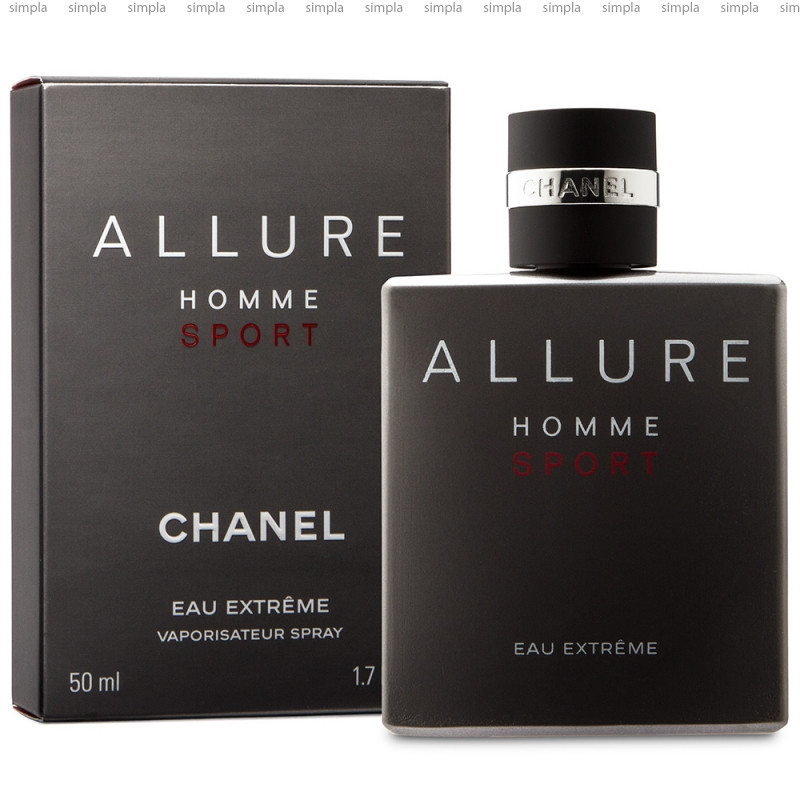 Chanel Allure Homme Sport Eau Extreme туалетная вода объем 50 мл (ОРИГИНАЛ)