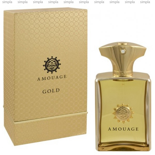 Amouage Gold Man парфюмированная вода объем 100 мл (ОРИГИНАЛ)