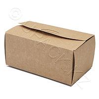 Россия Упаковка крафт/ламин 15,0х9,1х7,0см для наггетсов L, фото 1