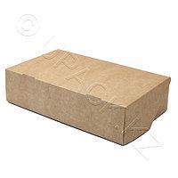 Россия Упаковка крафт/ламин для кондитерских изделий 1900мл 23,0х14,0х6,0см
