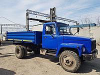 Кузов в сборе ГАЗ-САЗ с установочным комплектом ( балки, надрамник, г/ц, КОМ, гидравлика)