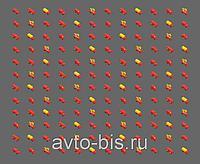 """Гидроцилиндр жатки, автоманипулятора бортового """"Енисей"""" """"Дон"""", ППК-4-03, ККП-3, маркера сеялки С-6ПМ2,1"""