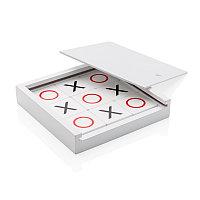 Настольная игра Крестики-нолики, белый, Длина 14,4 см., ширина 14,4 см., высота 2,7 см., P940.063