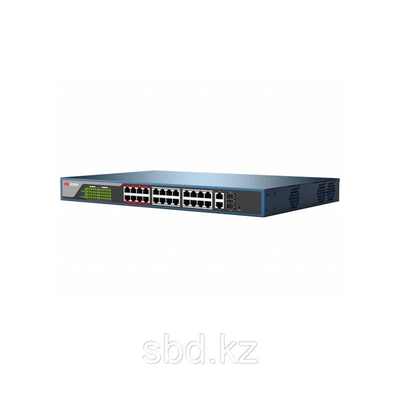PoE свитч 24-портовый Hikvision DS-3E1326P-E