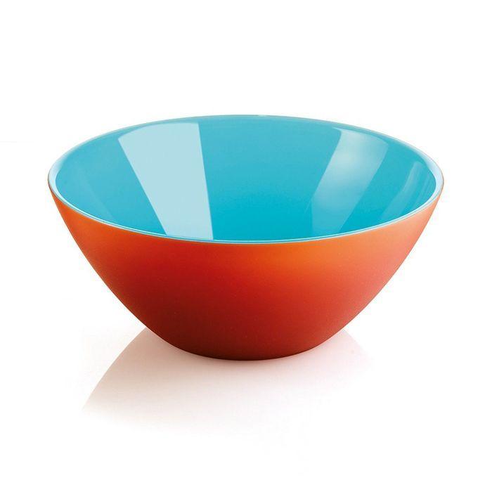 Салатница My Fusion 20 см красная/голубая