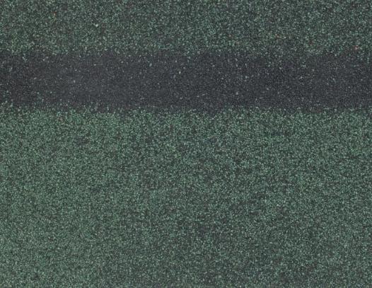 Коньково-карнизная черепица 5 м2 Зеленый Shinglas