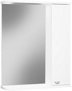 Шкаф-зеркало Волна 60 правый  АЙСБЕРГ, фото 2