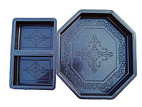 Форма «Бриллиант» для изготовления брусчатки
