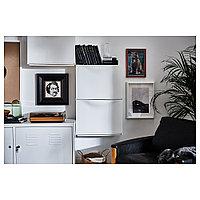 ТРОНЭС Галошница/шкаф, белый, 52x39 см, фото 1