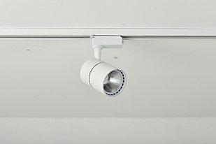 D02 Трековый светильник  LED  белый 20W 80*H110