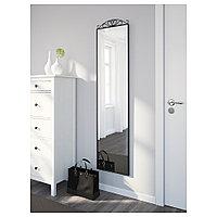 КАРМСУНД Зеркало напольное, черный, 40x167 см, фото 1