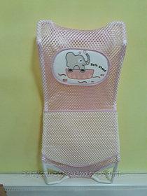 Лежак в ванну для новорожденного(двойная сетка на липучке)