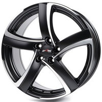 Диск литой Alutec Shark 7x16 5x114.3 ET38 d70.1 Racing Black Front Polished