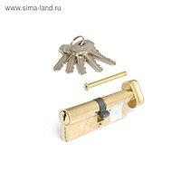 Цилиндровый механизм Apecs SC-90- Z-C-G, английский ключ-вертушка, цвет латунь