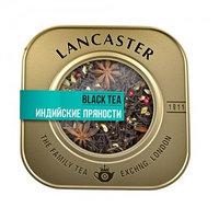 Lancaster черный чай Индийские пряности, 75 гр.