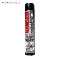 Пена монтажная Hauser BASE, полиуретановая, всесезонная, 500 г, до 20 л