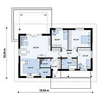 Проект одноэтажных домов