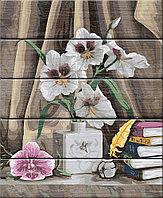 """ФРЕЯ PKW-1 54 Набор для раскрашивания по номерам (по дереву) 40 х 50 см """"Элегантные орхидеи"""""""