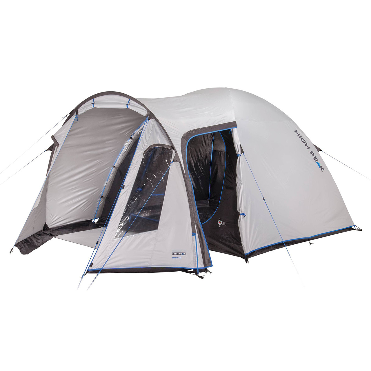 Палатка High Peak Tessin 4.0 Nimbus Grey